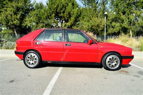 Lancia Delta Integrale Price 1989 Lancia Delta Integrale Hf 8v Martini For Sale
