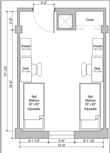 dorm room floor plan 17 best images about students house plans on pinterest