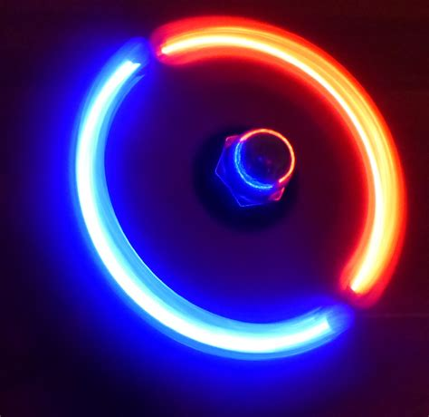 Led Fidget Spinner How To Make A Diy Led Finger Fidget Spinner Techydiy