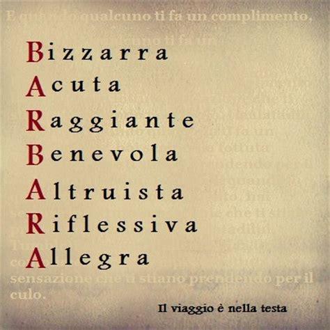 significato delle lettere dei nomi significato delle lettere tuo nome barbara