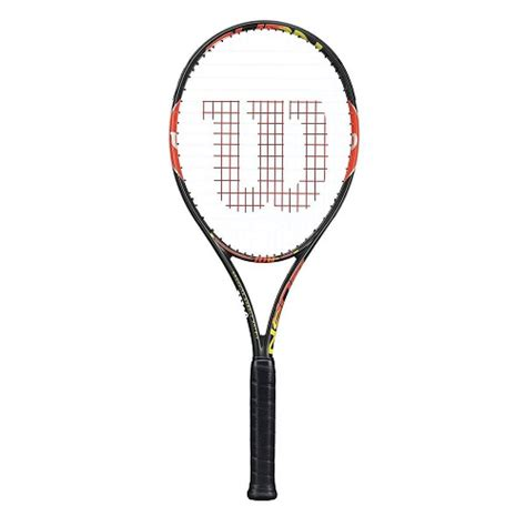 Promo Raket Wilson Burn Team 100 New sportscentre wilson burn 100 team tennis racket