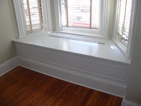 window benches bay window bench idea make it hollow with a lift up bench