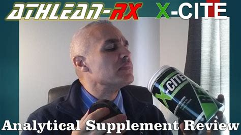 athlean x supplements review x cite pre workout supplement review from athlean x