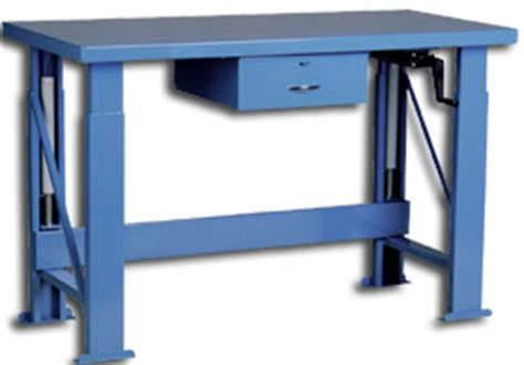 hydraulic work bench industrial workbench heavy duty workbenches on sale