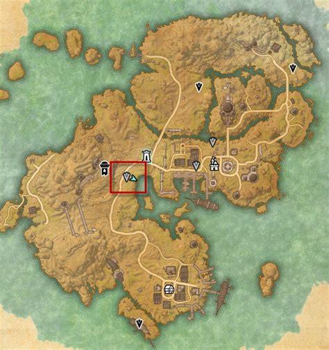 betnikh treasure map eso stros m and betnikh skyshards guide dulfy