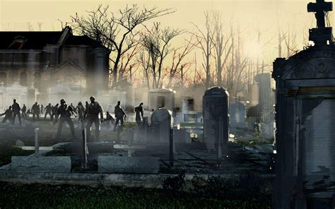 background zombie zombies wallpapers wallpaper cave