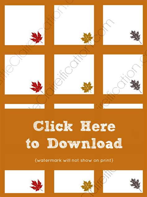 Table Place Cards Template Thanksgiving by Printable Place Cards For Thanksgiving Happy Easter