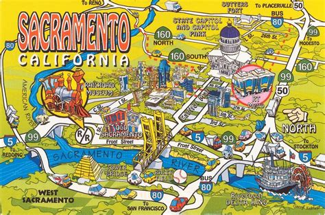 map of sacramento ca this map gives you a general idea of the