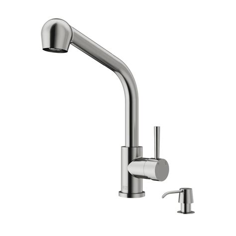 Kitchen Faucet Prices Vigo Single Handle Pull Out Sprayer Kitchen Faucet Stainless Steel