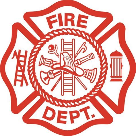 design a fire department logo fire dept logo large
