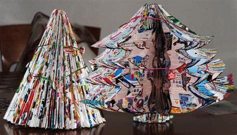 arbol de navidad con materiales reciclados 191 bajo presupuesto crea un 225 rbol de navidad con materiales