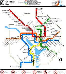 Us Metro Map by Map Of Metro Subway
