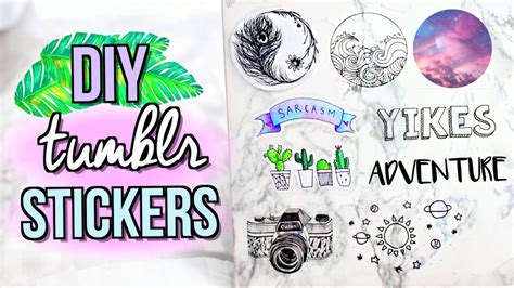 How To Make Stickers With Sticker Paper - diy stickers without sticker paper jenerationdiy