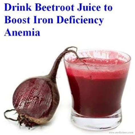 Beet Juice Detox Symptoms by Drink Beetroot Juice To Boost Iron Deficiency Anemia