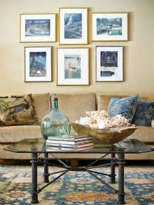 ideas living room seating pinterest: hot winter colors featured in a neutral and blue living room hgtv
