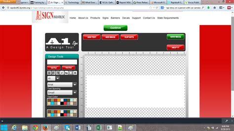 banner layout software banner designer software home design ideas