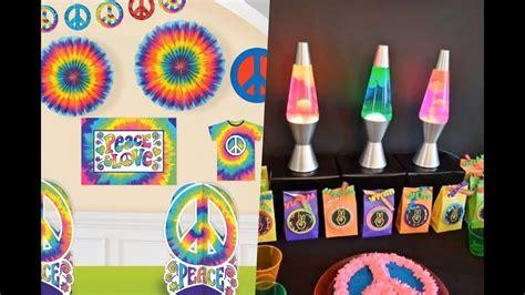 decoracion para fiesta hippie decoracion de fiestas hippies youtube