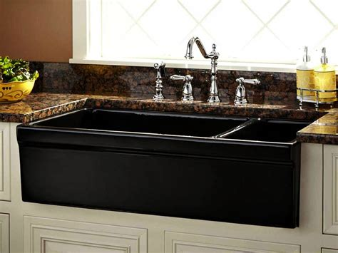 black sinks kitchen black farm sinks for kitchens designfree