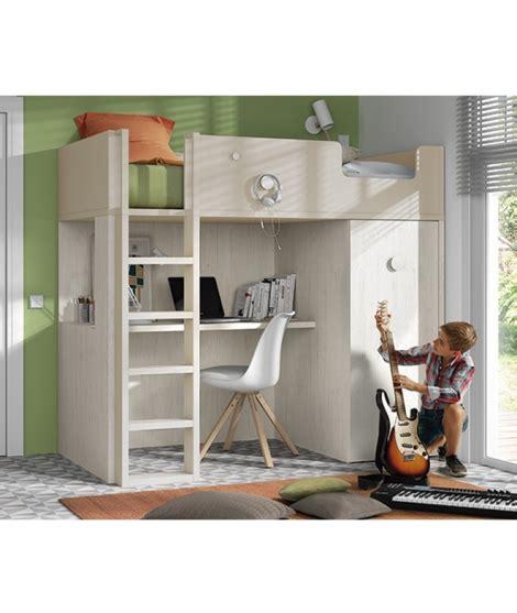 litera escritorio litera con escritorio y armario extraible