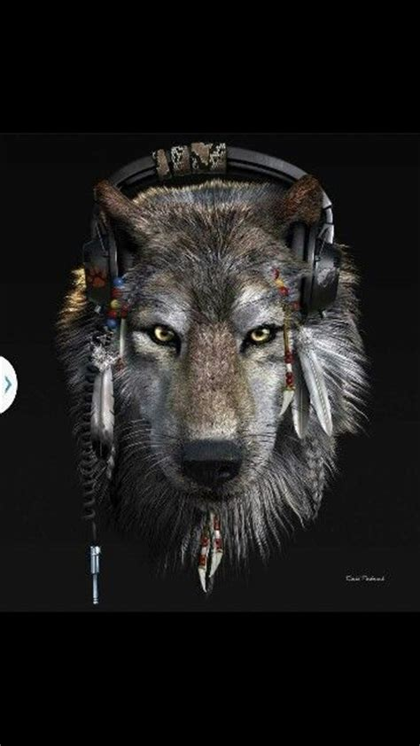 Headphone Warwolf With Headphones Wolves And Werewolves
