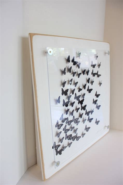 Wedding Guest Book Alternative. 3D butterfly unique guest