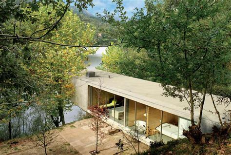 small eco houses concrete house in ger 234 s portugal by correia ragazzi