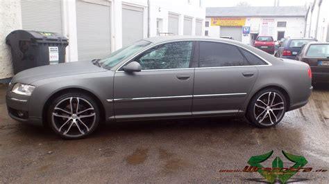 Audi A8 Matt by Audi A8 Ultra Matt Anthrazit Metallic Wrappsta Berlin