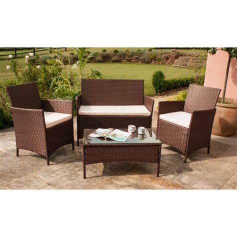 rattan garden sofas roma rattan garden furniture set