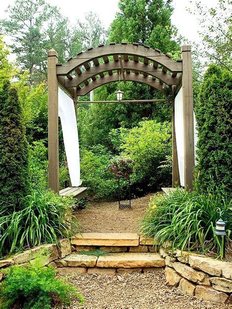 Trellis Ideas For Gardens Pergola And Trellis In The Garden Stylish Ideas For Garden Design Interior Design Ideas