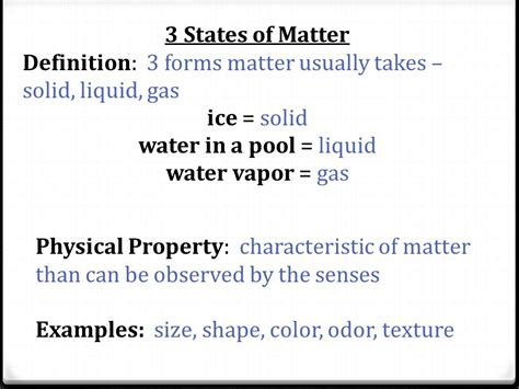 What Makes Up Matter Chapter 4 Lesson Ppt