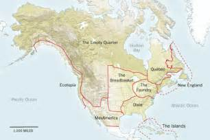 america fault lines map nine nations of america 30 years later eslkevin s