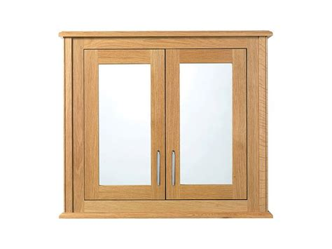 imperial thurlestone 2 wood mirror glass door wall cabinet