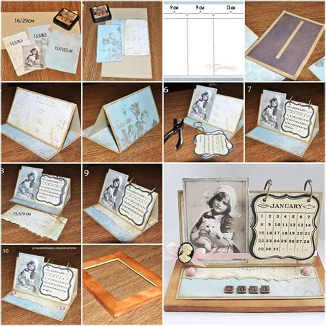 how to make your own calendar handmade how to make your own handmade calendar step by step diy