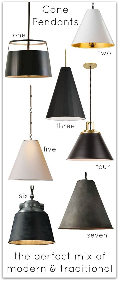 Kitchen Inspiration: Cone Pendant Lighting   Style