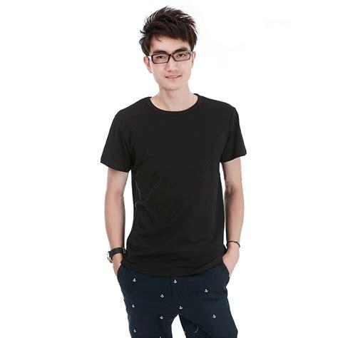 Kaos Pria Kaos Tshirt Sport Taci kaos polos katun pria o neck size m 86102 t shirt black jakartanotebook