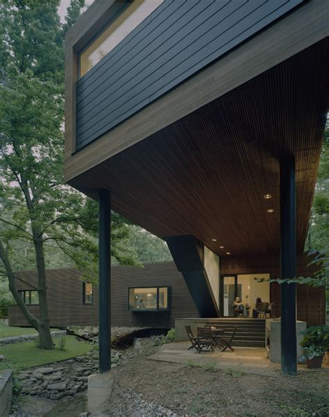 stack house l stack house marlon blackwell architect archdaily