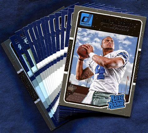 dallas cowboys cards 2016 donruss dallas cowboys nfl football card team set