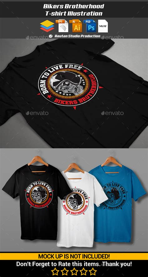 T Shirt Kaos Bikers Brotherhood Mc sticker bikers brotherhood bicycling and the best bike ideas