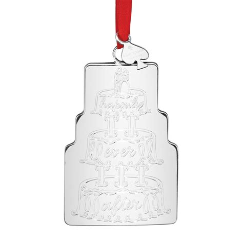 Wedding Cake Ornament by Kate Spade Our Ornament 2016 Wedding Cake