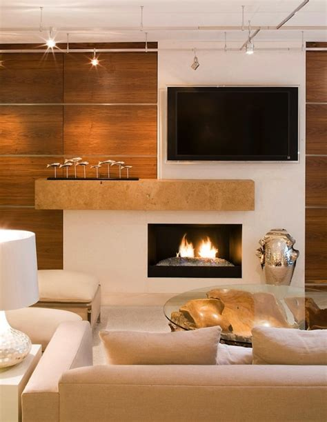 Living Room With Tv Fireplace Gas Fireplace Television Hdtv Design Tips