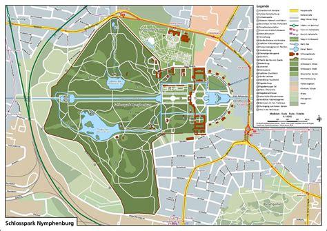 Englischer Garten München Karte Pdf by Datei Karte Schlosspark Nymphenburg Pdf
