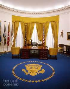 white house oval office interior photo