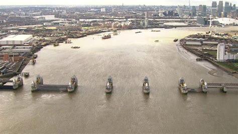 thames river disaster uk floods a helicopter journey along the flooded thames