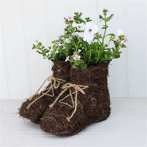 Walk Planter by Walking Boots Planter By Marquis Dawe