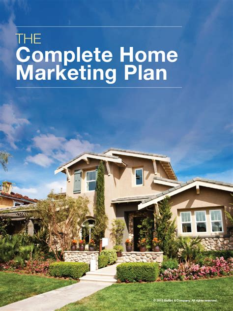 complete home marketing plan sabligh real estate