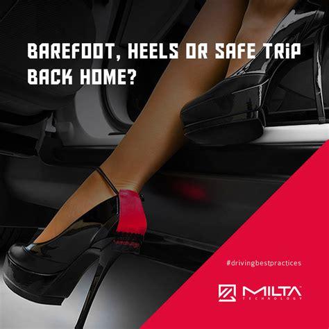 barefoot heels flip flops or a safe trip back home