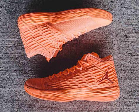 Airjordan Melo13 Sunset Glow melo m13 energy sunset glow blue sneakerfiles