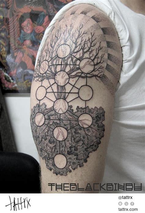 tattoos of life francesco blackbindu tree of dotwork sacred