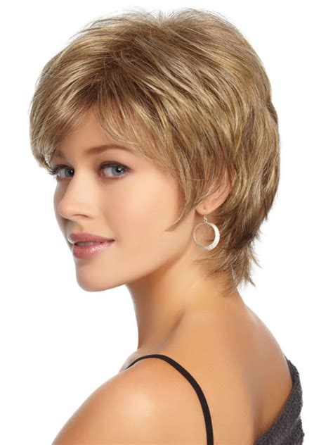 wigs for 50 with thinning hair real hair wigs for women thinning hair over 50 short