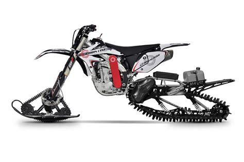 christini announces ii track awd snow bike system adv
